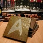 HANDCRAFTED STAR-TREK COASTER