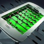 Luxirious Foosball table by Audi