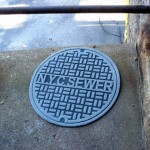 Geeky Doormat Man-hole cover