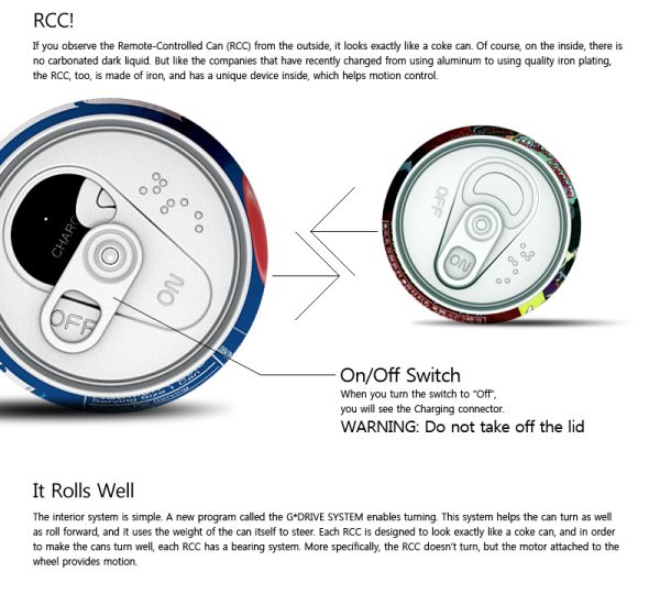 Internal Device of the RCC