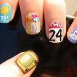 Paint the Apps of IPhone 4G on Your Nails
