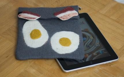 Protect your iPad with Bacon n' Eggs