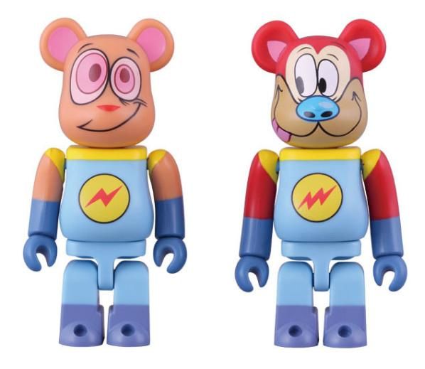 Ren and Stimpy Bearbricks 3