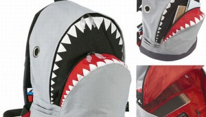 The New Shark Backpack Puts Lethal Jaws On Your Back ad5c74730abf9