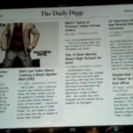 The Daily Digg iPad App Preview