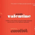 The Valentine Turntable is Red, Stylish and Every DJ's Dream!