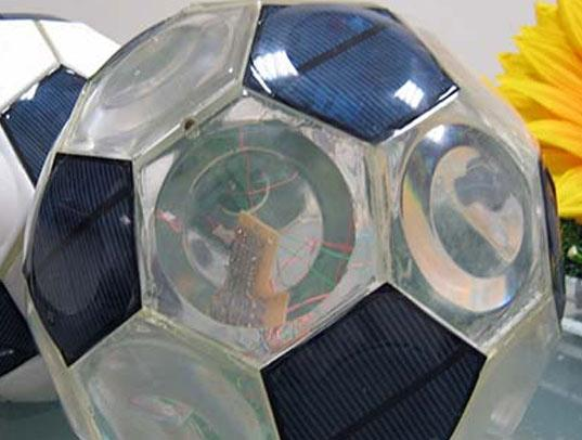 The World's First Solar Powered Ball