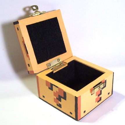 This Small Wooden Box, Hand-painted 4