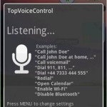 TopVoiceControl voice recognition android app