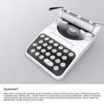 Typewriter Calculator