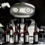 asahi beer robot image