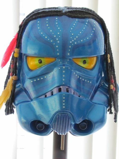 avatar stormtrooper helmet design