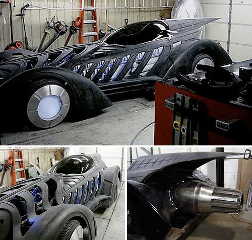 batmobile go kart diy image