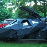 batmobile tumbler replica image