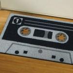 cassette tape doormat1