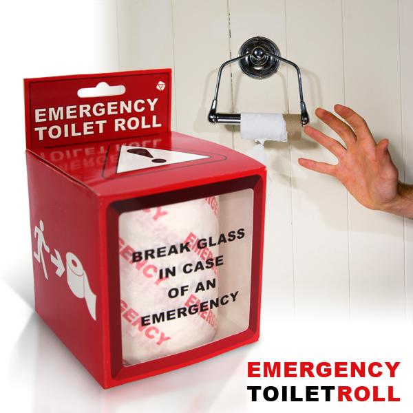emergency toilet roll