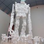 giant polystyrene robot image