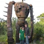 giant robot statue ghibli image