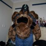 giant tarantula backpack geek theme