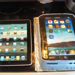 iPad Birthday Cake