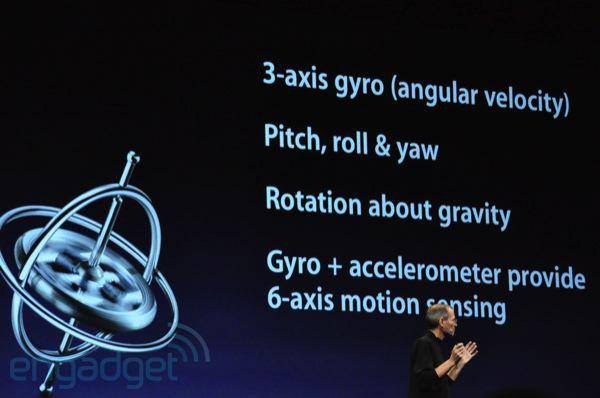 iPhone 4 birds eye features
