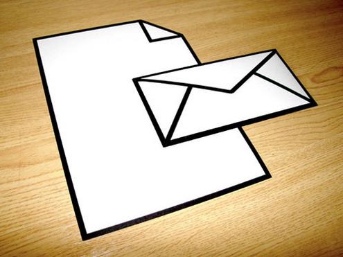 icon letter envelope design1