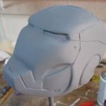 iron man carved helmet art 1