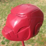 iron man carved helmet art 3
