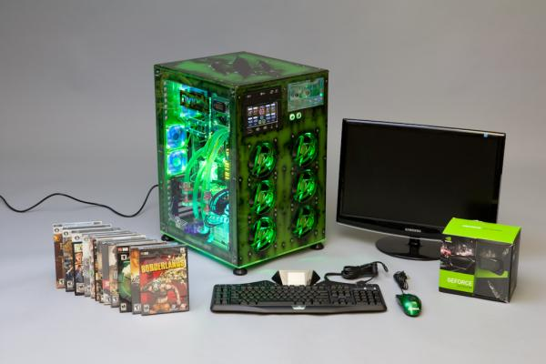 leukaemia ultimate gaming pc case mod 1