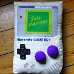 nintendo game boy pillow design