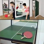 ping pong table door fathers day 2010