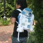 r2d2 backpack geek theme