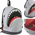 shark backpack geek theme