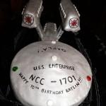 starship enterprise cake design image