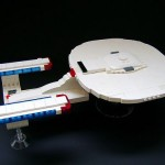 starship enterprise lego design image