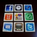 Amazing Set of Nine iPhone Apps Coasters