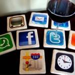 Amazing Set of Nine iPhone Apps Coasters  3