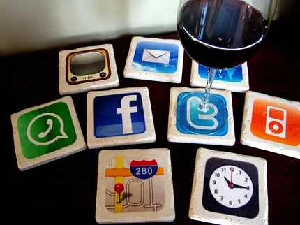 Amazing Set of Nine iPhone Apps Coasters