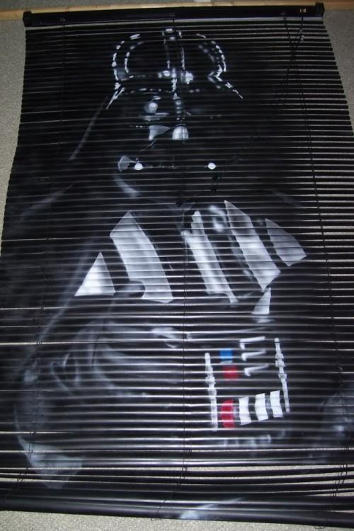 Darth Vader Blinds Shows You Its Dark Side