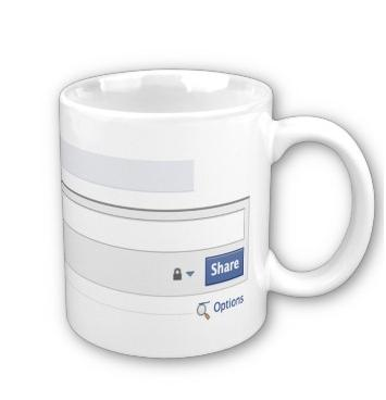Facebook Mug For The Facebookaholic!-1