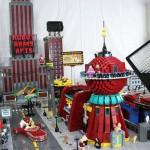 Futurama's New York Lego City A Lego Masterpiece!