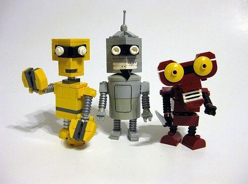 Futurama Characters Found in Lego Artwork 5