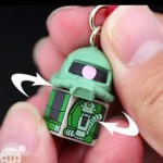 Gundam Cellphone Charm 3