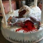 Luke-Wampa Gory Cake 1