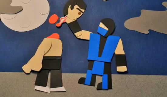 Mortal Kombat Stop Motion 1