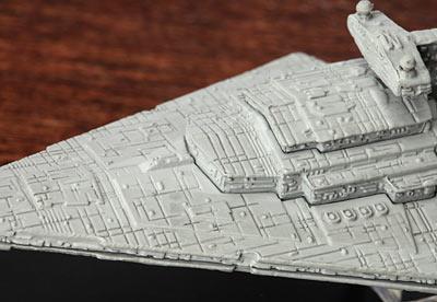 Mini Metal Version of Star War Ships