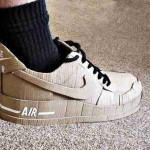 Nike air made up of cardboard (7)