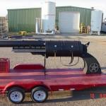 Oversized Novelty Pistol – BBQ Grill