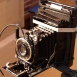 Steampunk polariod Camera