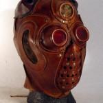 Steampunk robotic Helmet